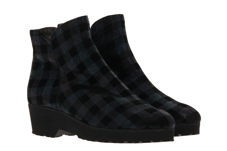 Brunate ankle boots lined VERA HUBLOT PETROL