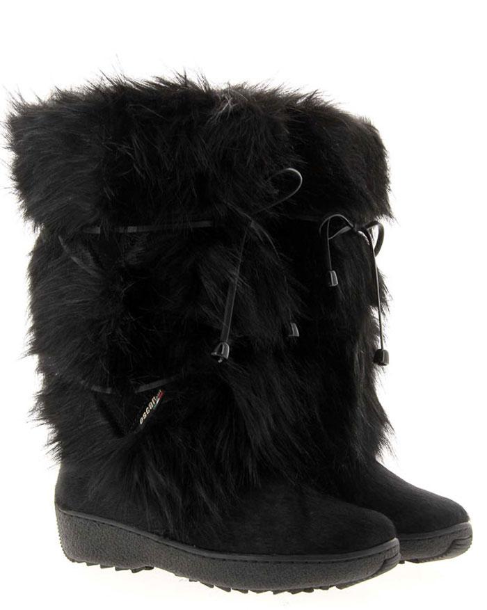 Oscar Sport fur boots GIADA-ECOL. BLACK