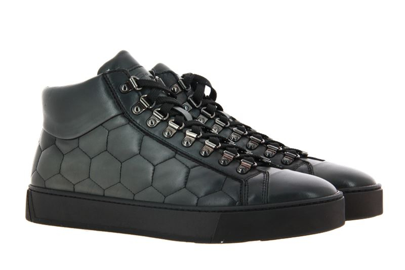 Santoni High Top sneaker LEATHER GIRGIO