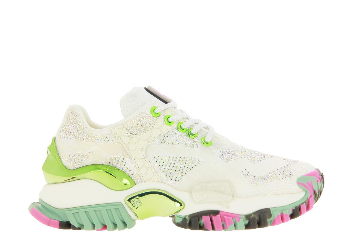 CLJD sneaker WHITE TOURQUOISE