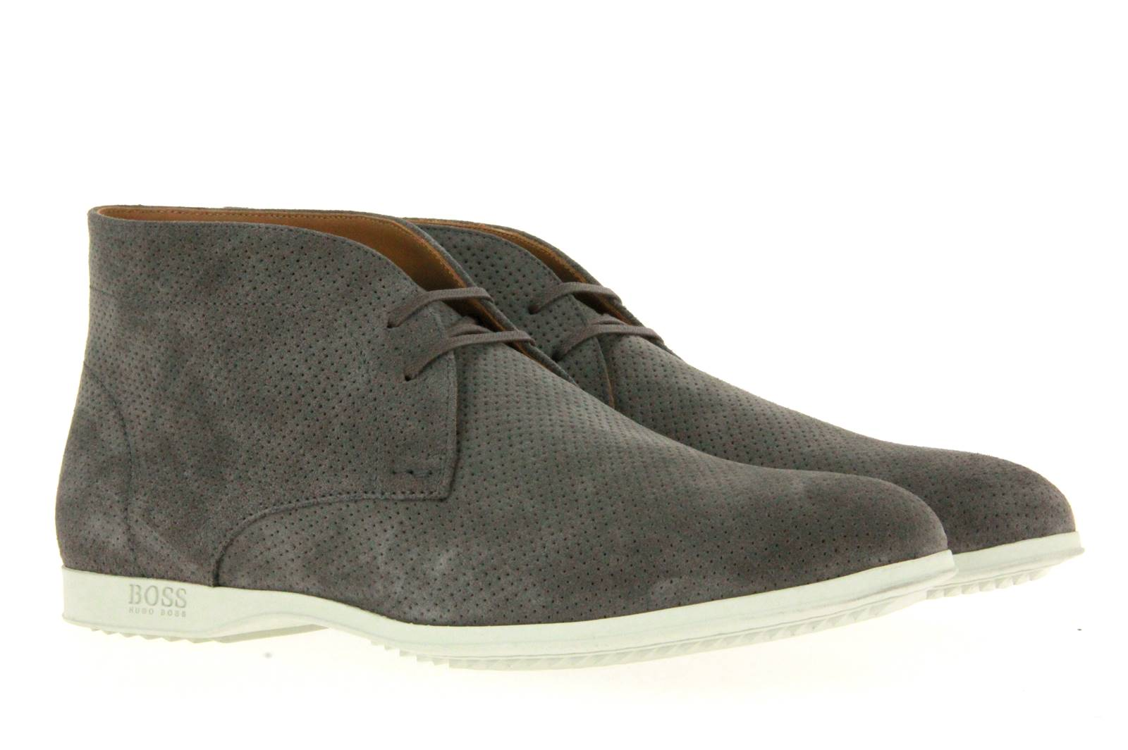 Hugo Boss lace-up SODESER MEDIUM GREY