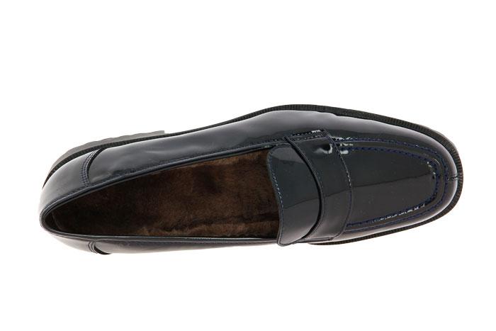 Brunate slipper lined VERNICE BLU