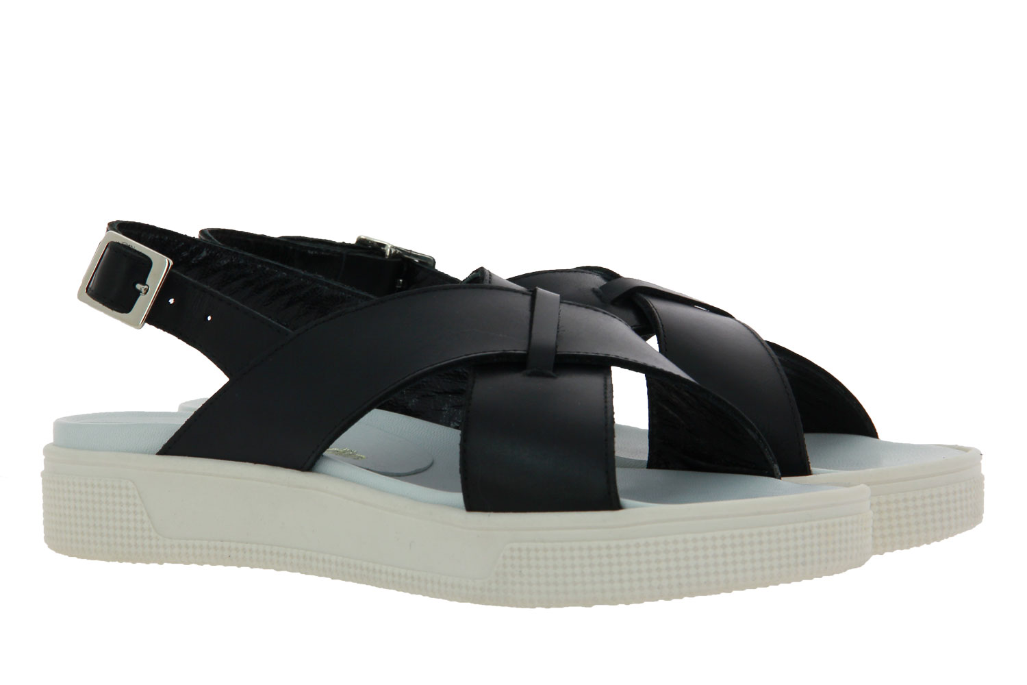Hartian Bourdin sandals VACCHETTA NERA