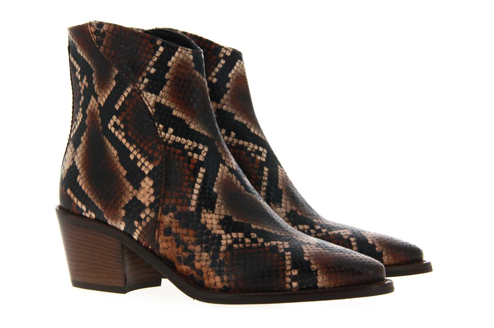 Donna Carolina ankle boots DIAMANTE CIOCCO SUOLA