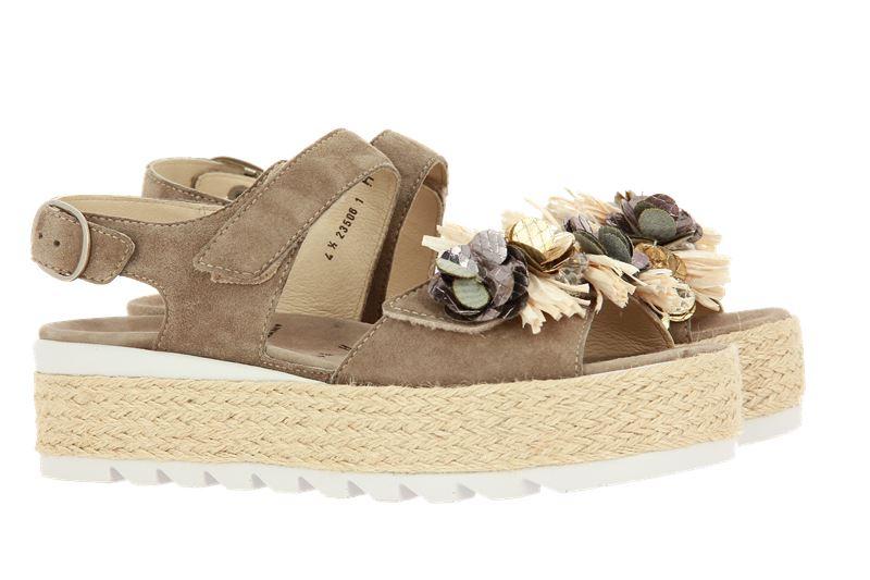 Semler sandals FANNY SAMT-CHEVRO PANNA