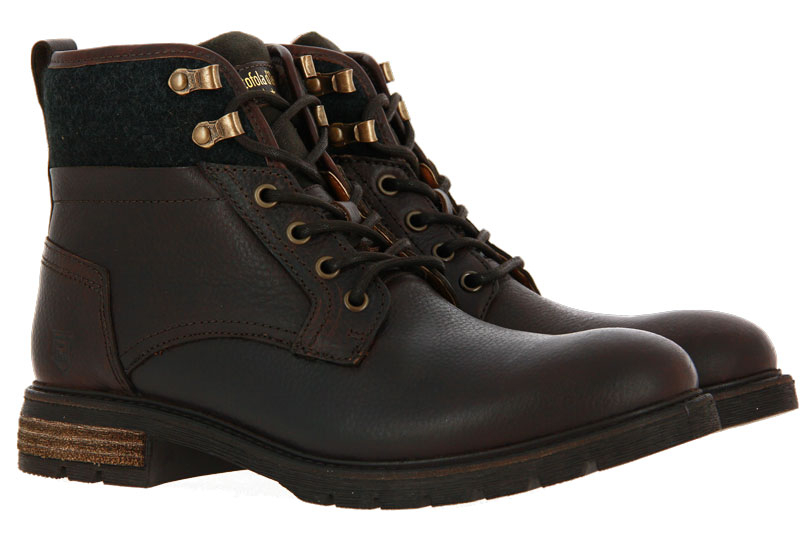 Pantofola d´Oro ankle boots lined LEVICO UOMO COFFEE BEAN