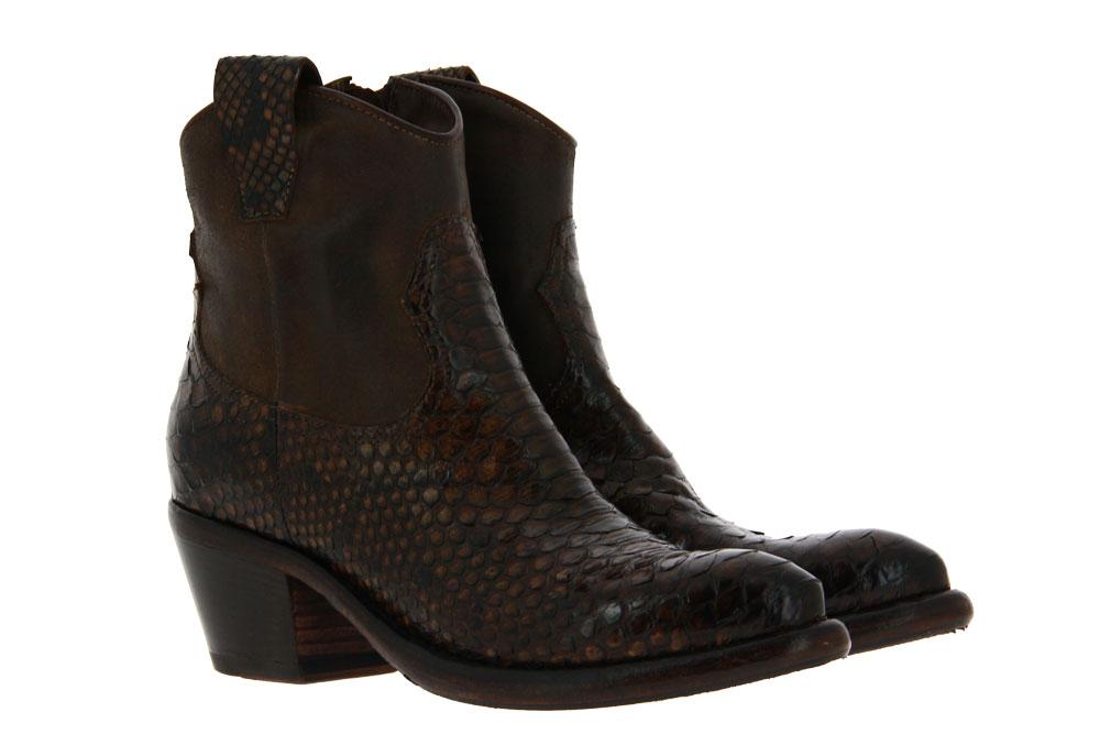 La Bottega di Lisa ankle boots PITONE T.MORO