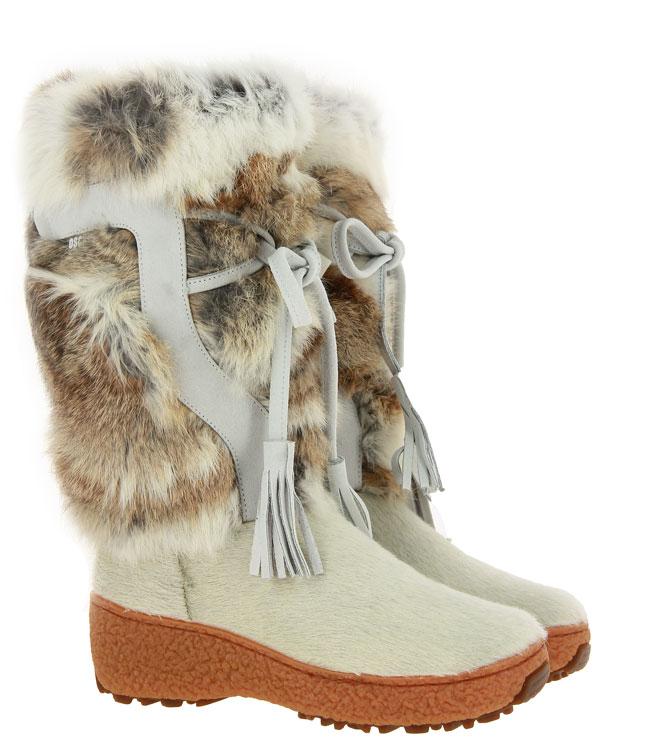 Oscar fur boots TANIA LAPIN