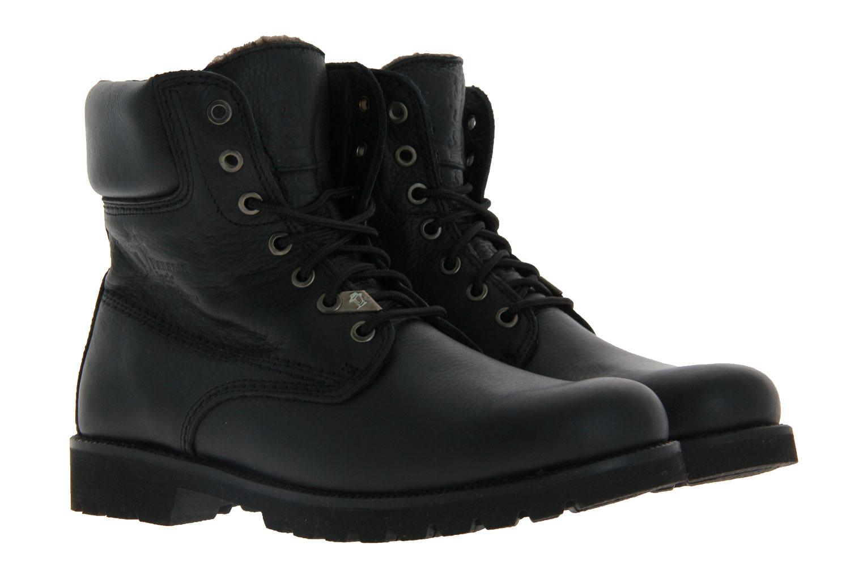 Panama Jack ankle boots lined PANAMA 03 IGLOO NAPA GRASS NEGRO