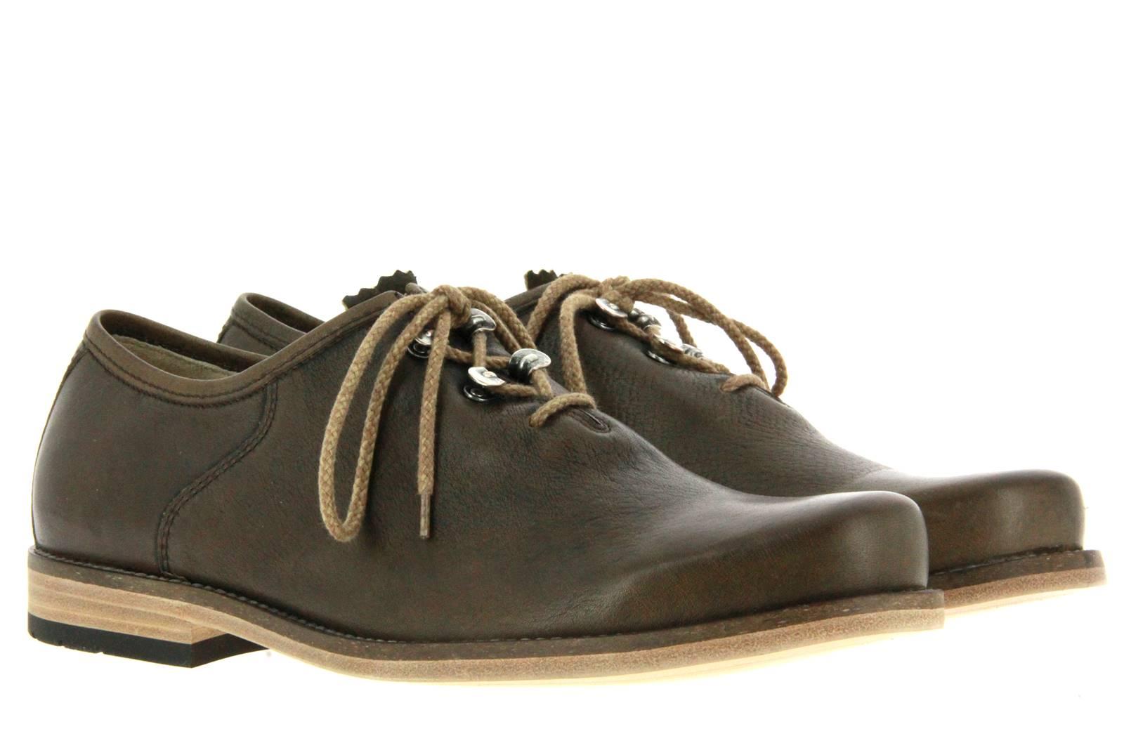 DIRNDL + BUA garb shoe ANTIKBOCK OLIV AHORN