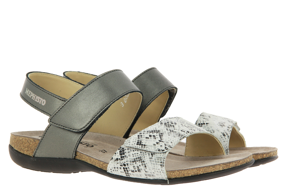 Mephisto sandals AGAVE DARK GREY