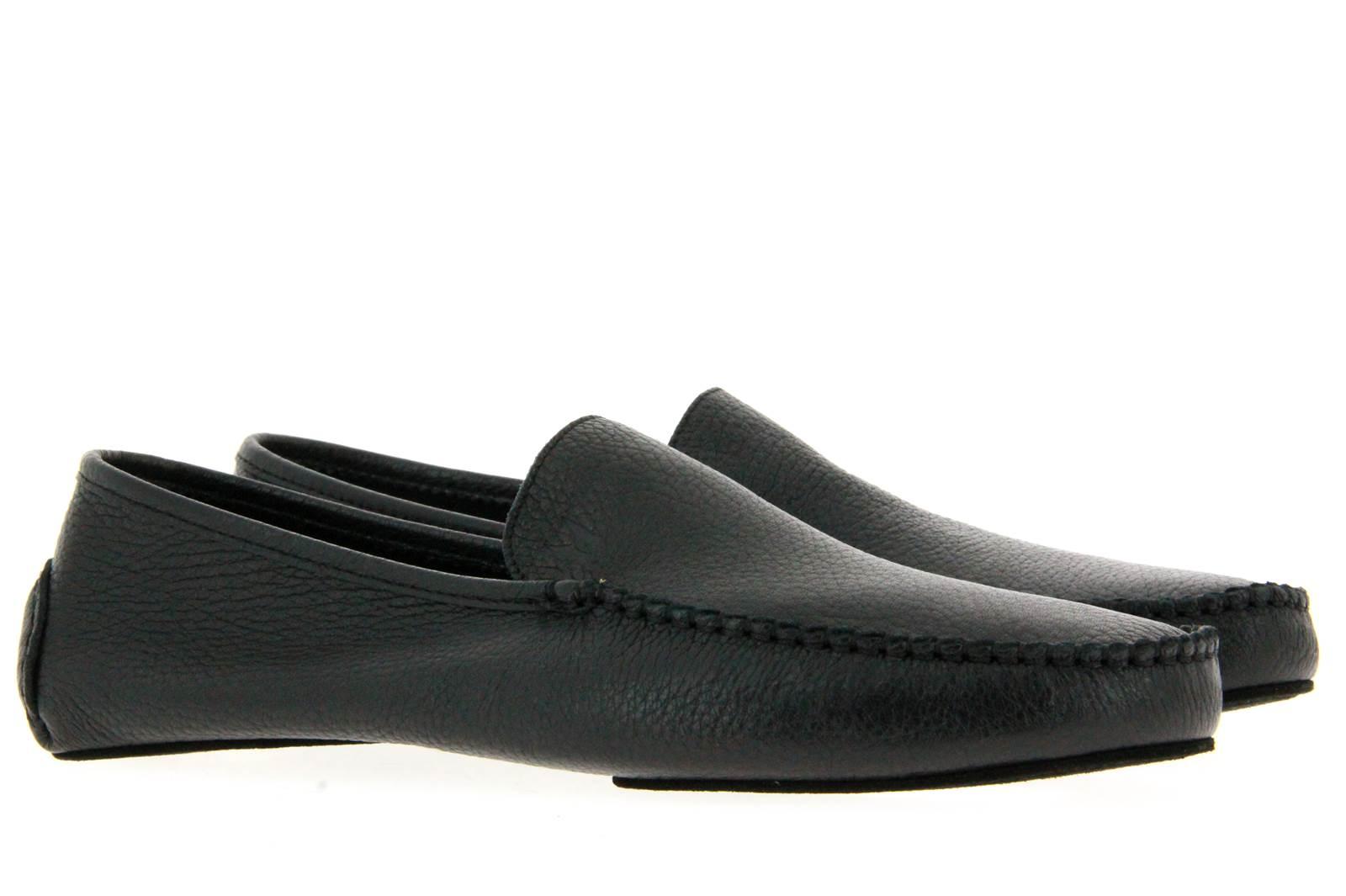 Moreschi house shoe LAPPONIA CERVO NERO
