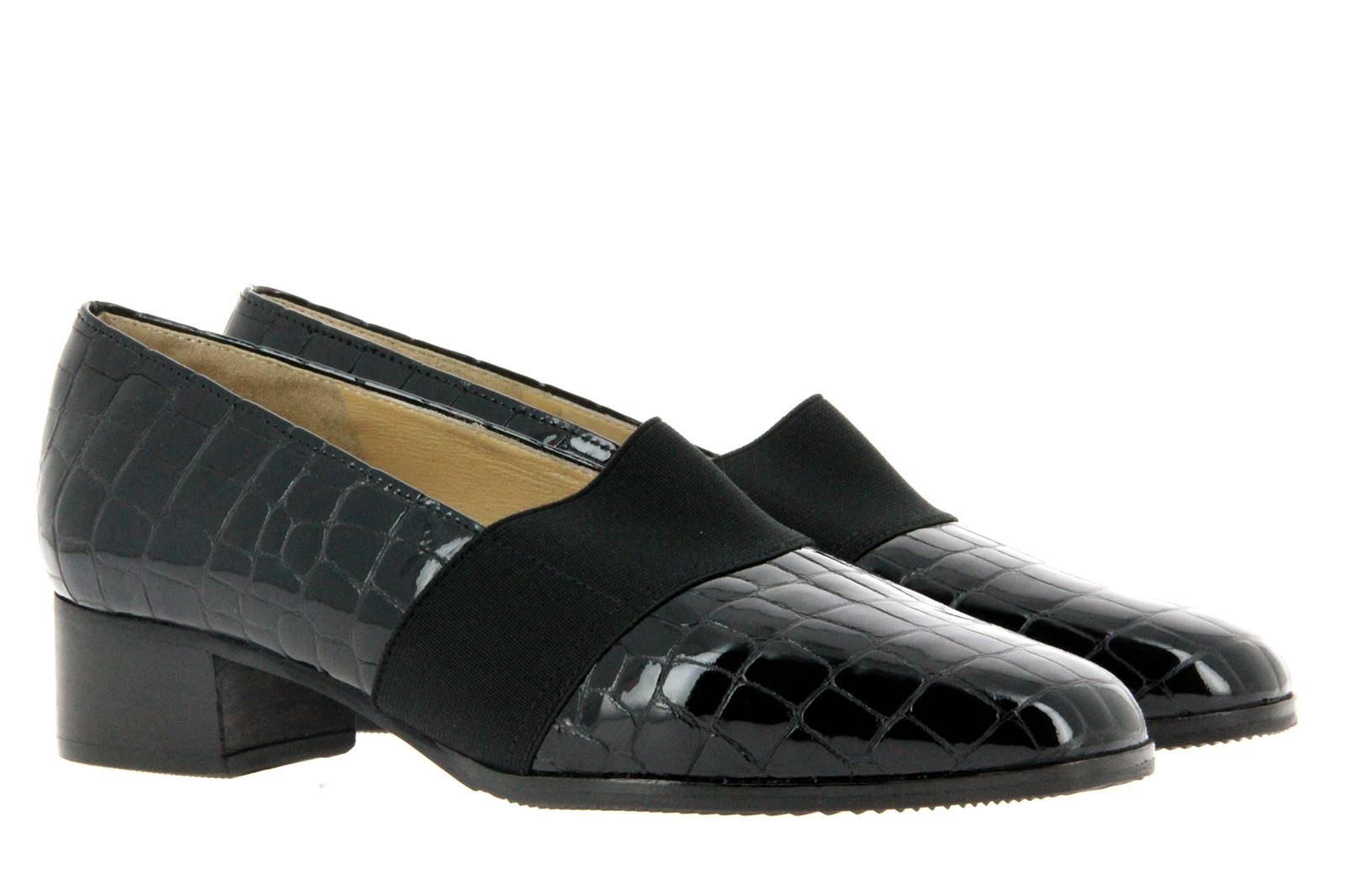 Brunate loafer ZOE APACHE NERO ELASTICO NERO