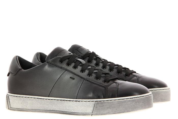 Santoni sneaker NAPPA GRIGIO