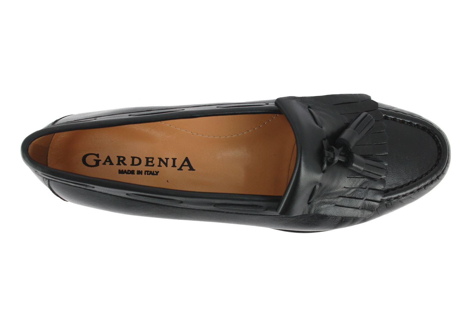 Gardenia Moccasins NAPPA NERA
