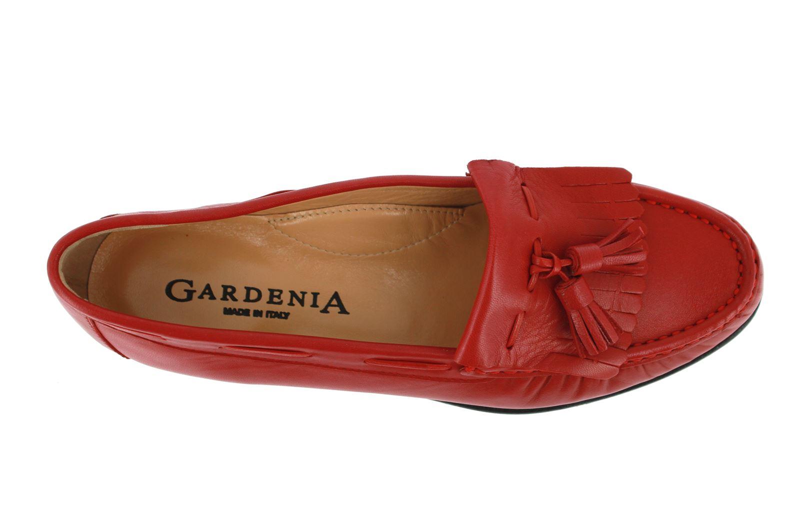 Gardenia Moccasins NAPPA ROSSO