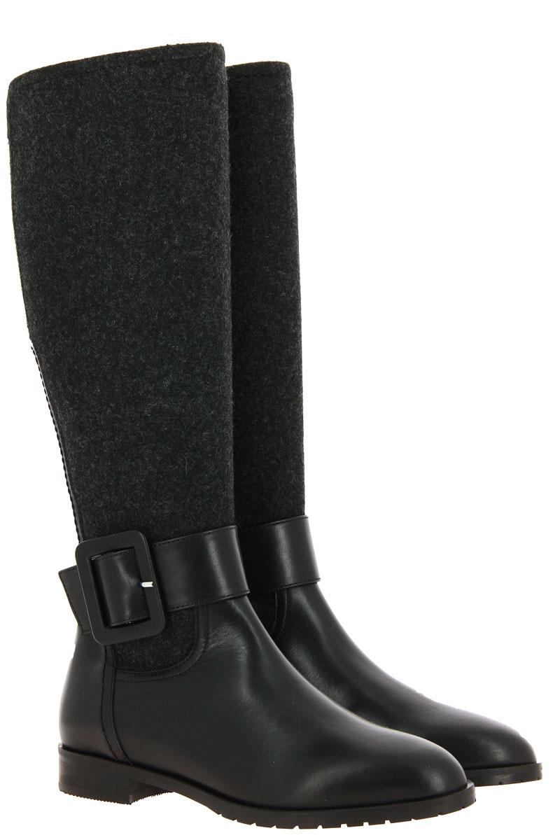 Dirndl + Bua boots LODEN NAPPA ANTHRAZIT