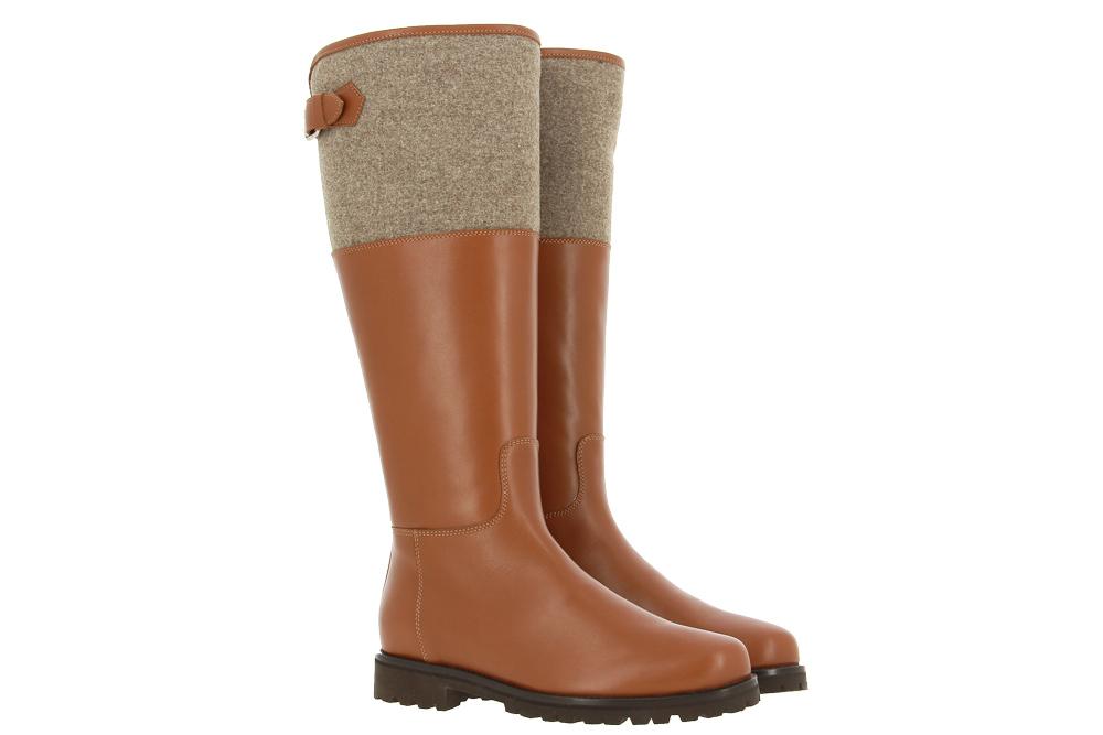 Dirndl+bua boots lined TENDER CARAMEL NATUR