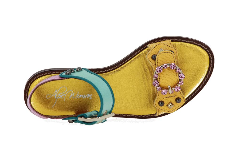 Alpe sandals CUERO AMARILLO