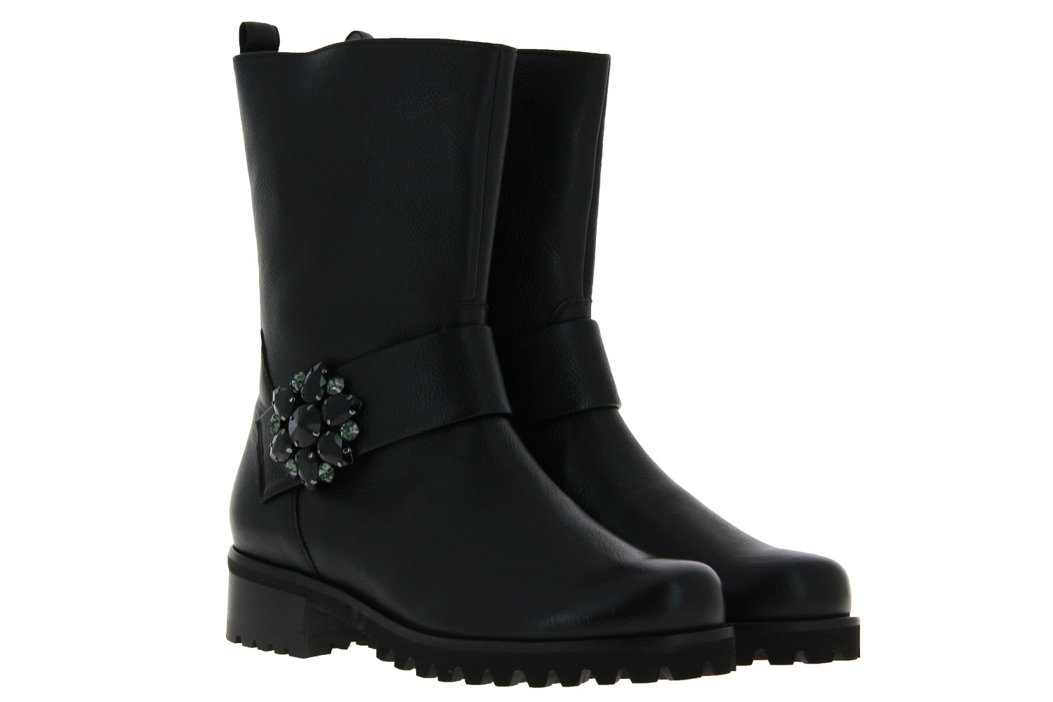 Hassia ankle boots AMSTERDAM H-WEITE FOULARDCALF BLACK