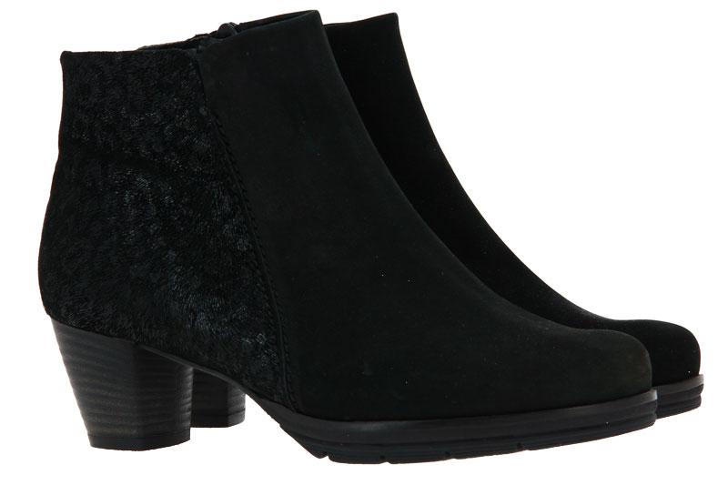 Semler ankle boots NUBUKINA SCHWARZ