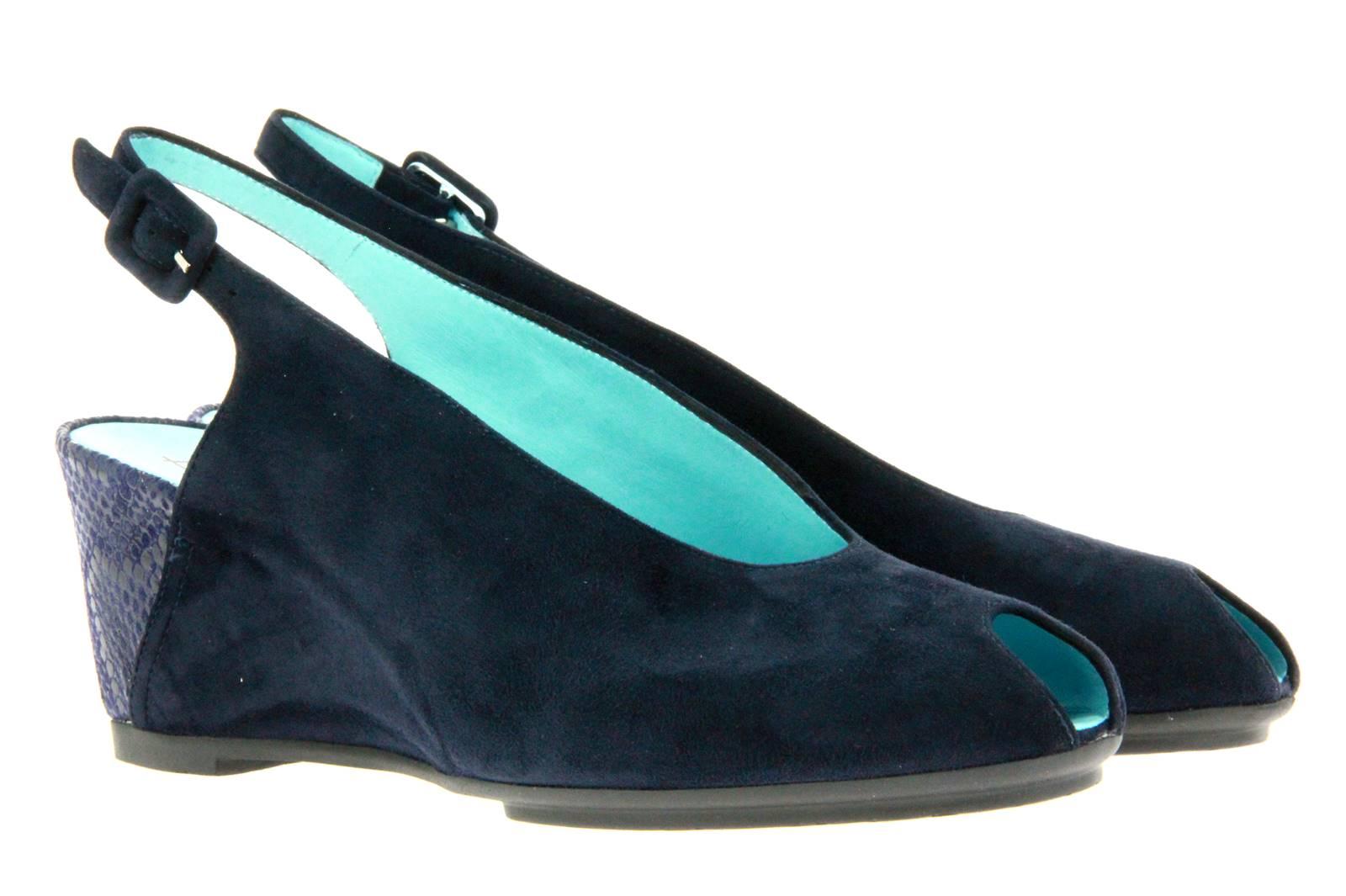 Thierry Rabotin sandal CLAYTON CAMOSCIO DARK BLUE