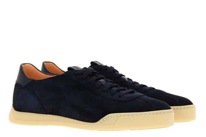 Santoni sneaker CAMOSCIO DARK BLU