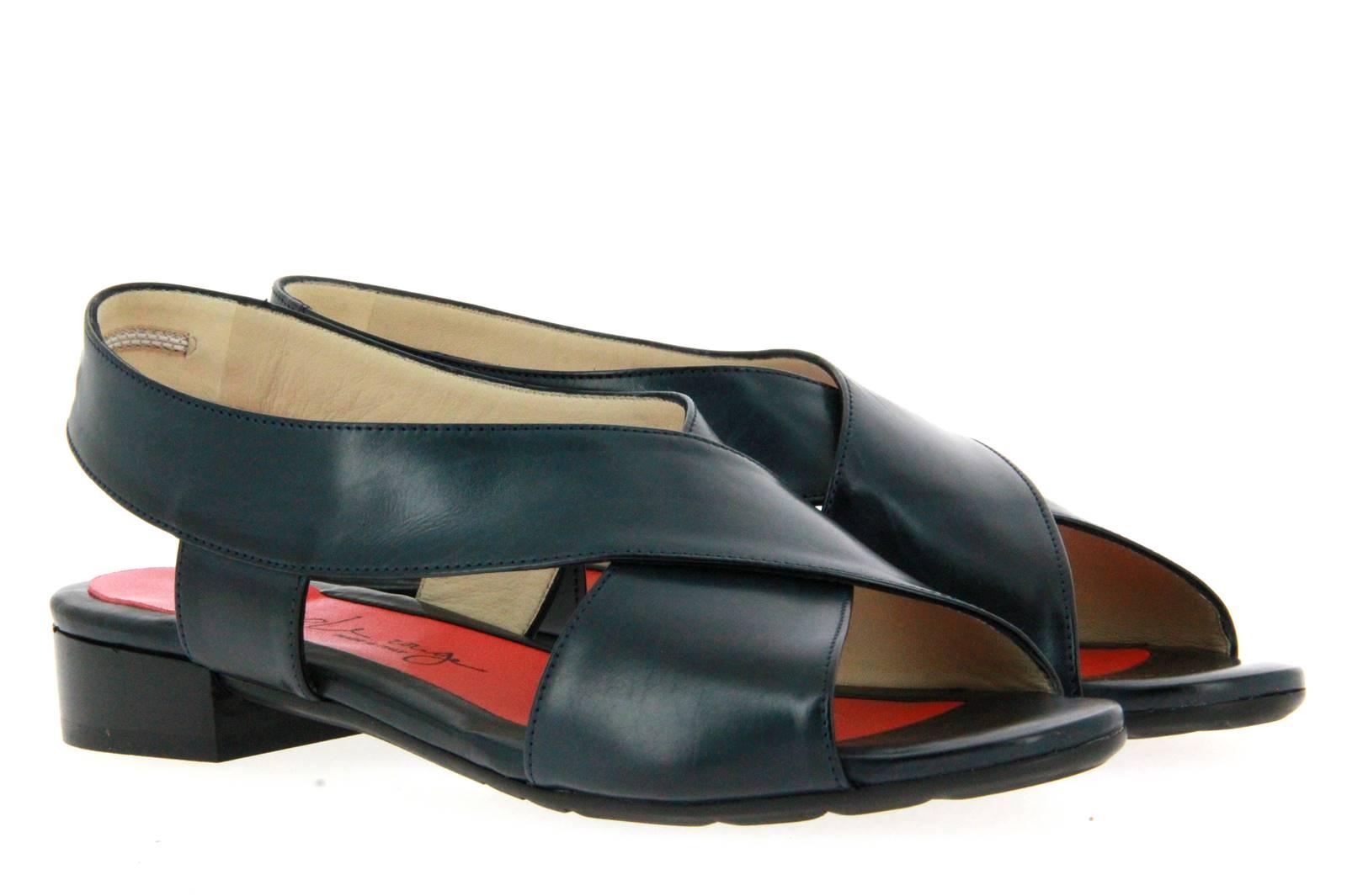 Pas de rouge sandal MILA PARMA BLU