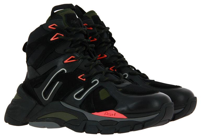 Ash men - high top sneaker FARGO BLACK