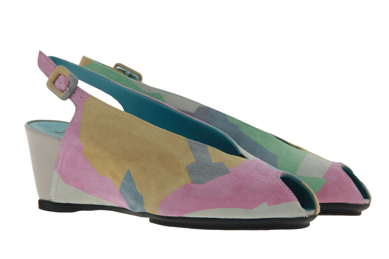 Thierry Rabotin wedge sandals CALI NAPPA