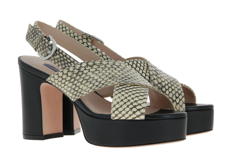 Stuart Weitzman sandals JERRY BAMBINA OUTLINED SNAKE