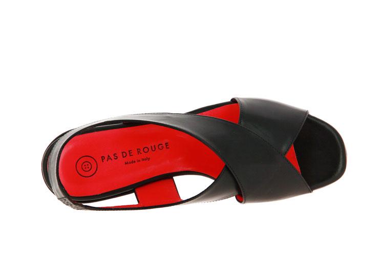 Pas de rouge sandals MILA PARMA NERO