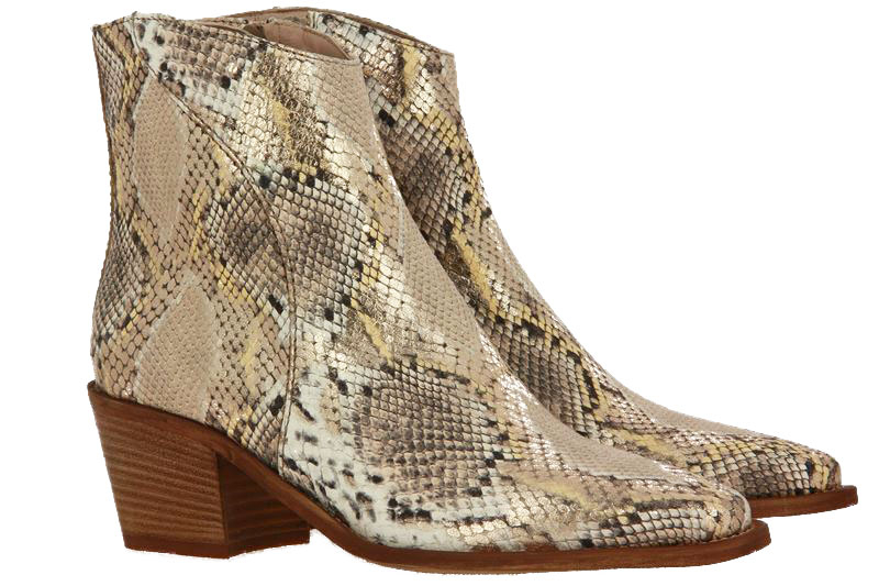 Donna Carolina ankle boots ANGEL GOLD