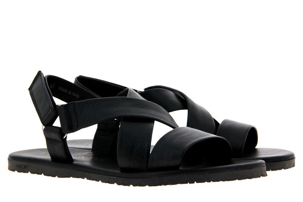 Emozioni sandals LEATHER BLACK M6527