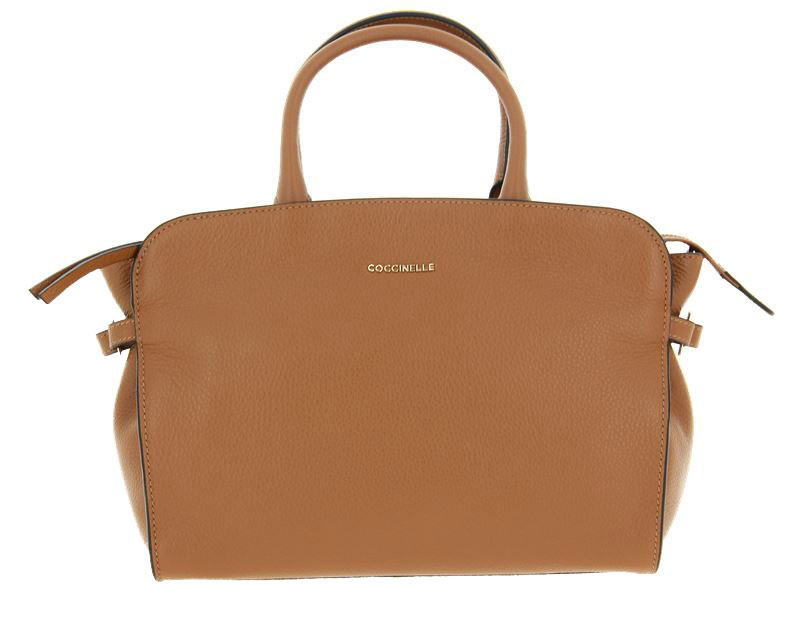Coccinelle bag ELLA LEATHER TOBACCO