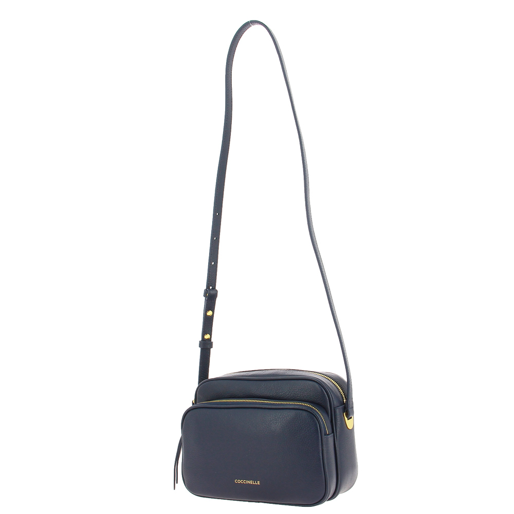 Coccinelle handbag LEA ASH GREY BLUE