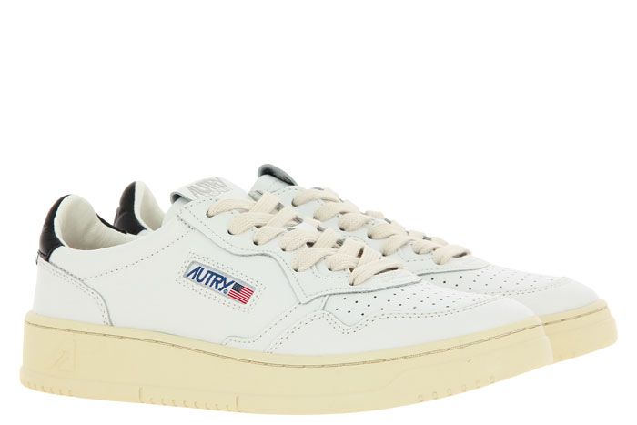 Autry sneaker LOW MAN LEATHER WHITE/BLACK