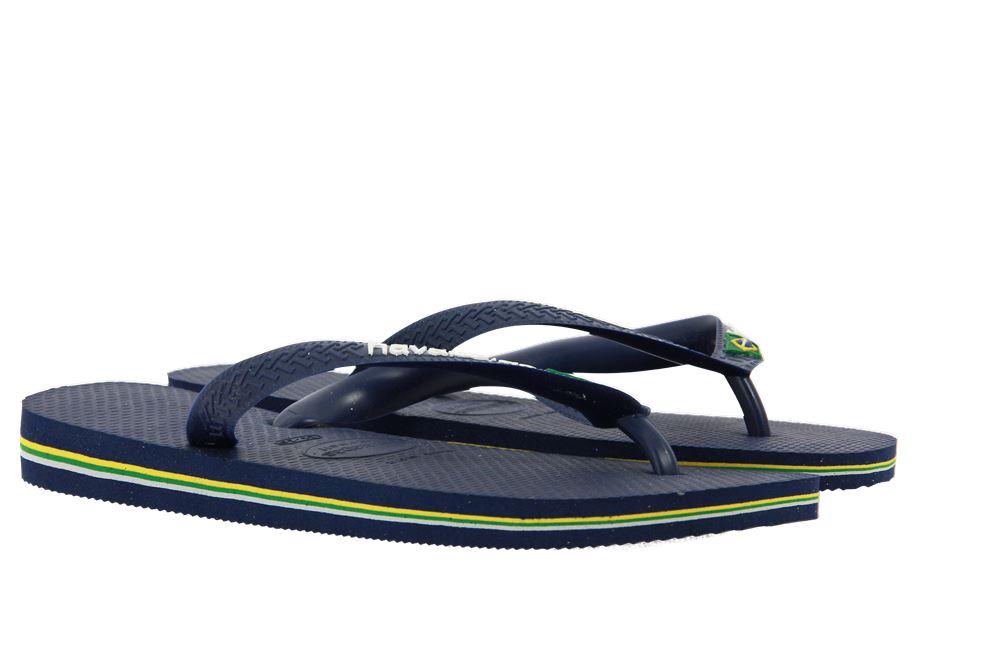 Havaianas toe sandals BRASIL LOGO NAVY BLUE