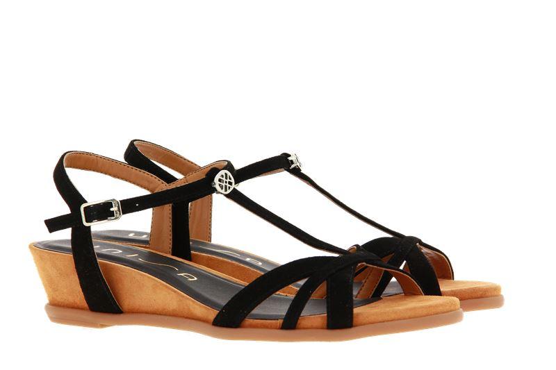 Unisa sandals BINAR KID SUEDE BLACK
