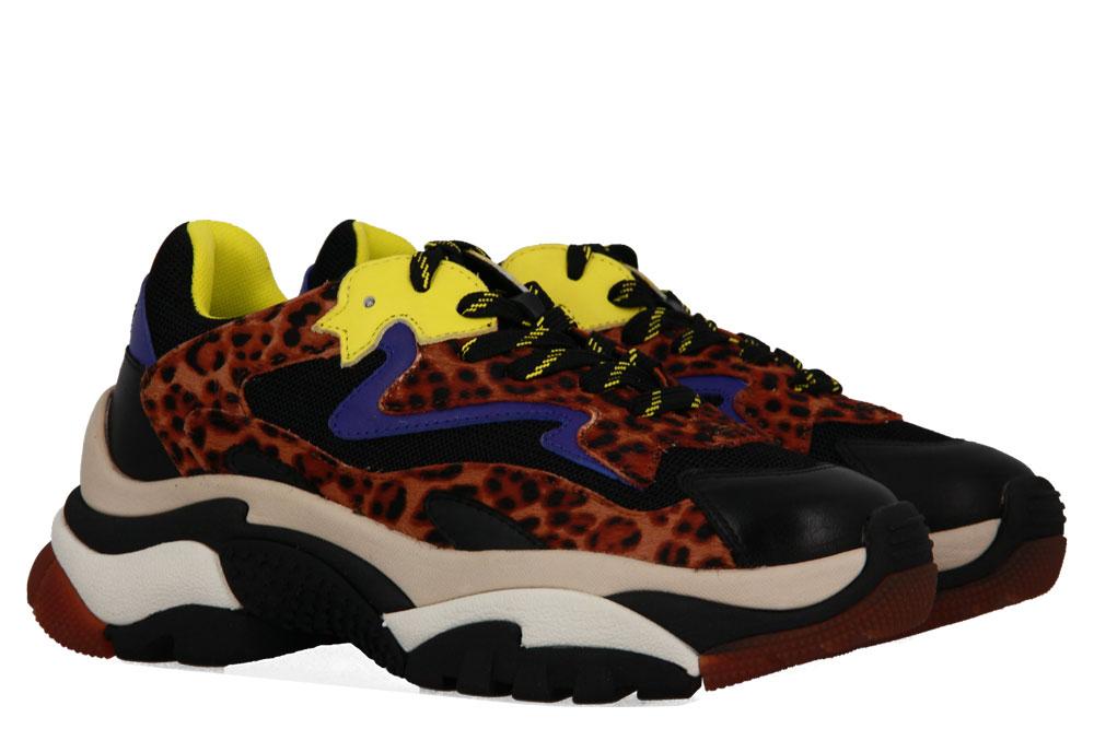 ASH sneaker ADDICT BLACK TAN INDACO