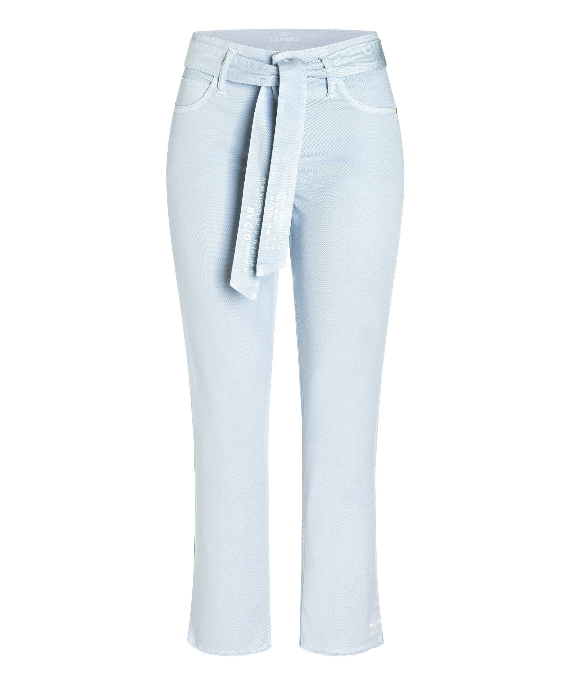 Cambio Stoffhose Scout cropped SKYWAY BLUE