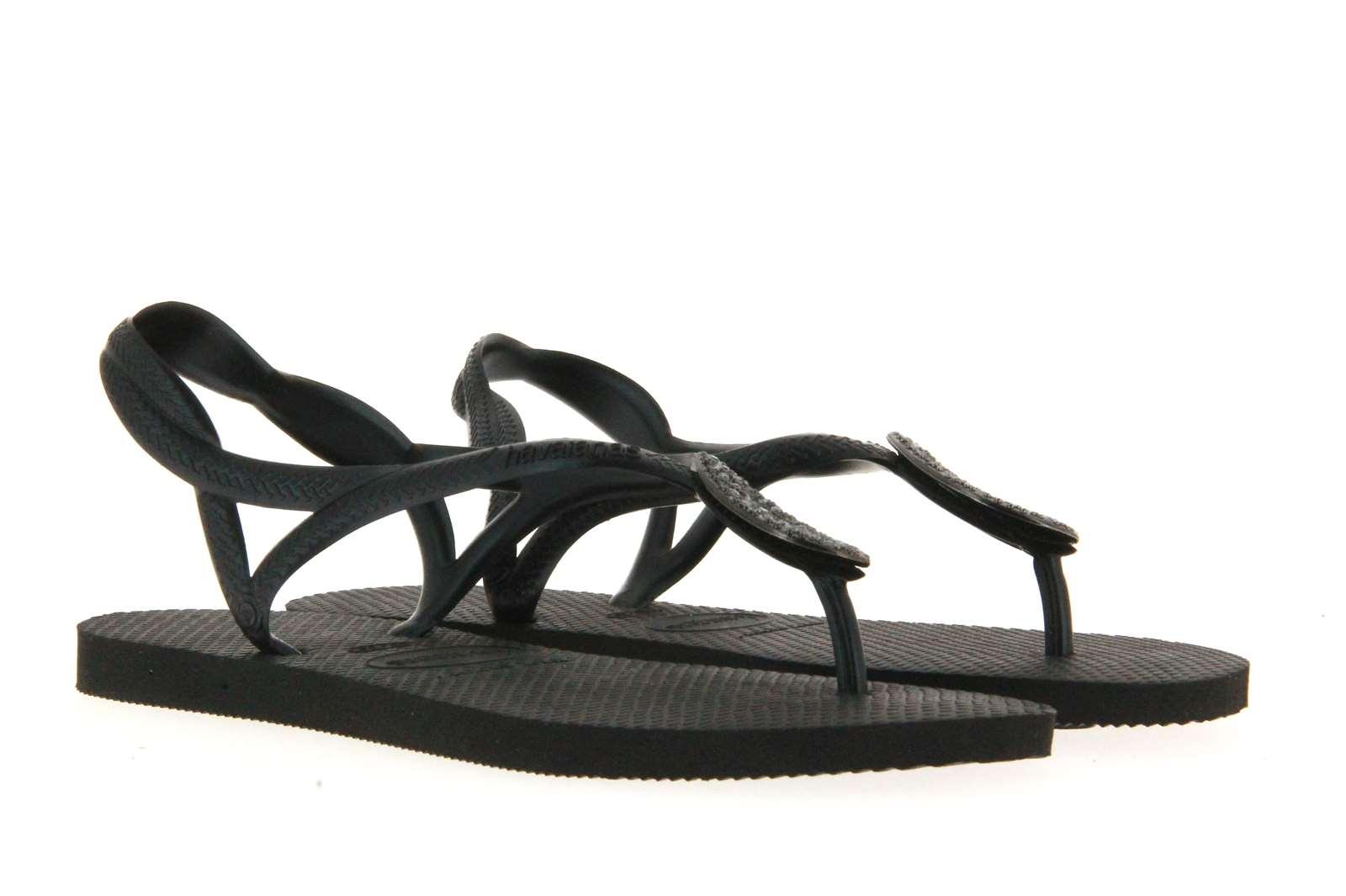 Havaianas toe sandals LUNA SPECIAL BLACK DARK GREY