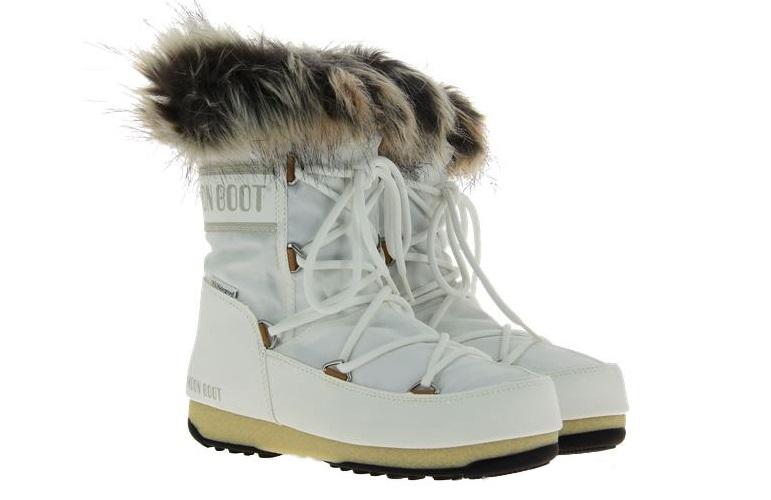 Moon Boot snow boots MONACO LOW WHITE