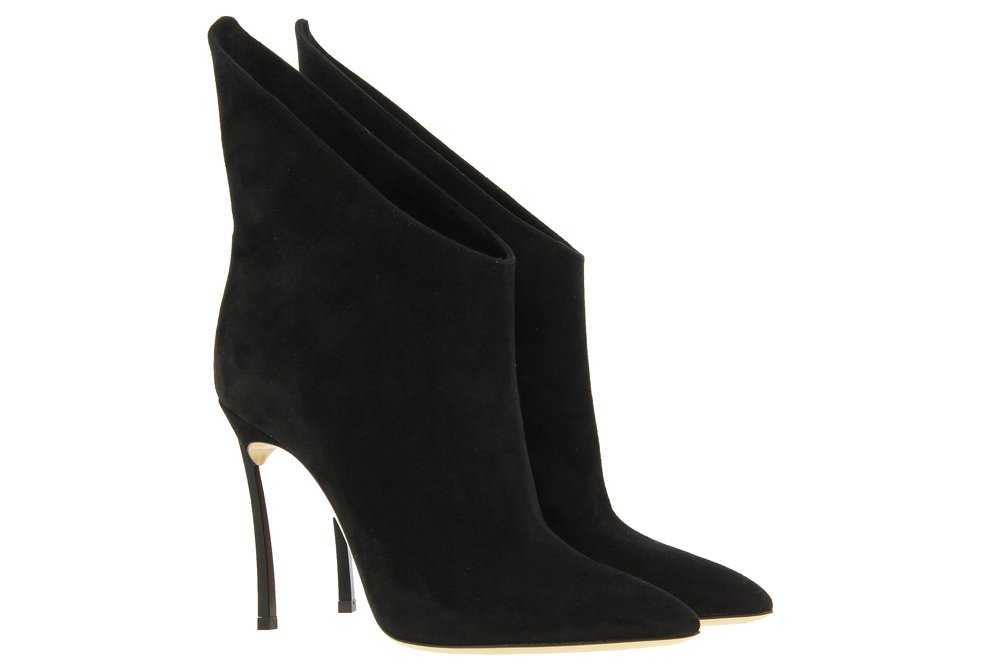 Casadei ankle boots BLADE CAMOSCIO NERO