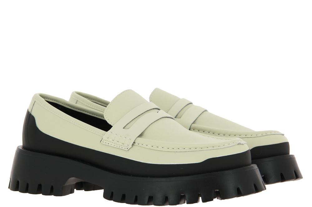Bibi Lou slipper WHITE BLACK