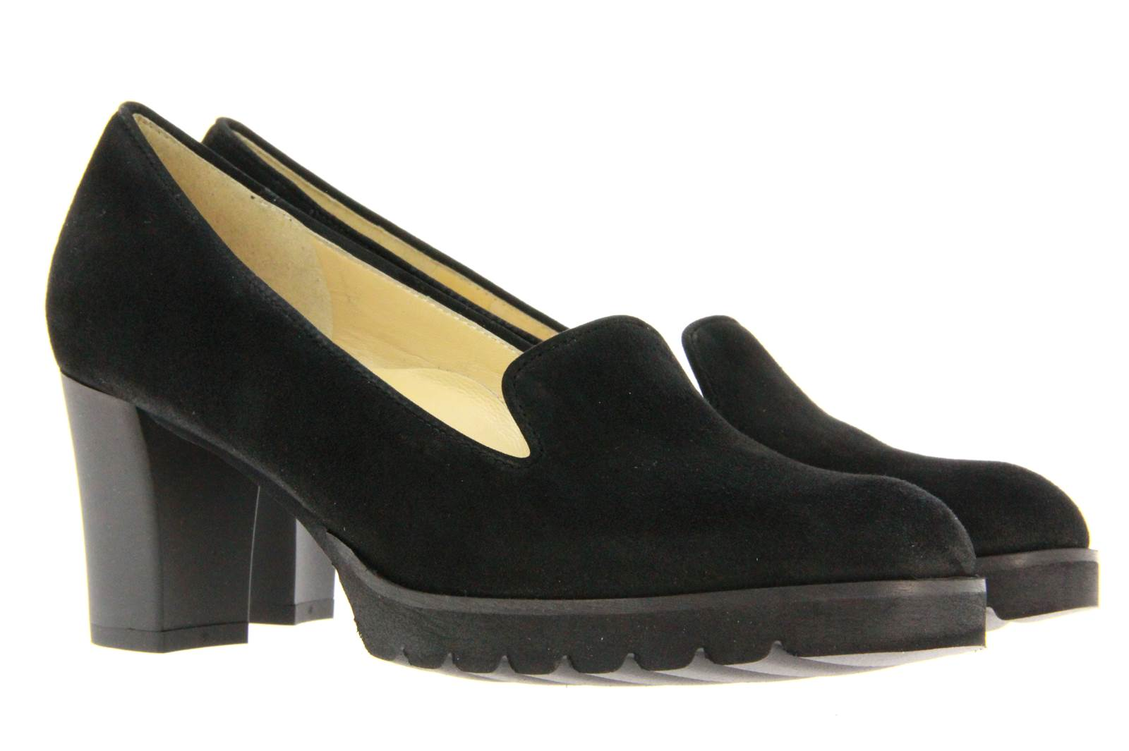 Brunate loafer XENIA CAMOSCIO NERO