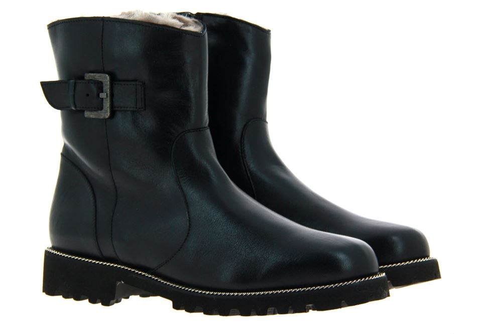 Gabriele ankle boots lined ADA NAPPA NERO