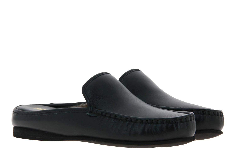 Fortuna house shoe - lined JACK AGO NAPPA PORO BLACK