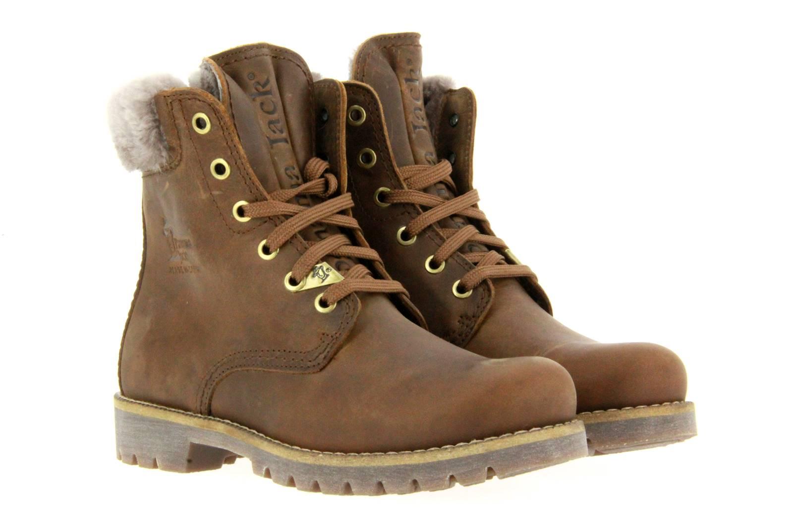 Panama Jack boots lined PANAMA 03 IGLOO NAPA GRASS CUERO BARK