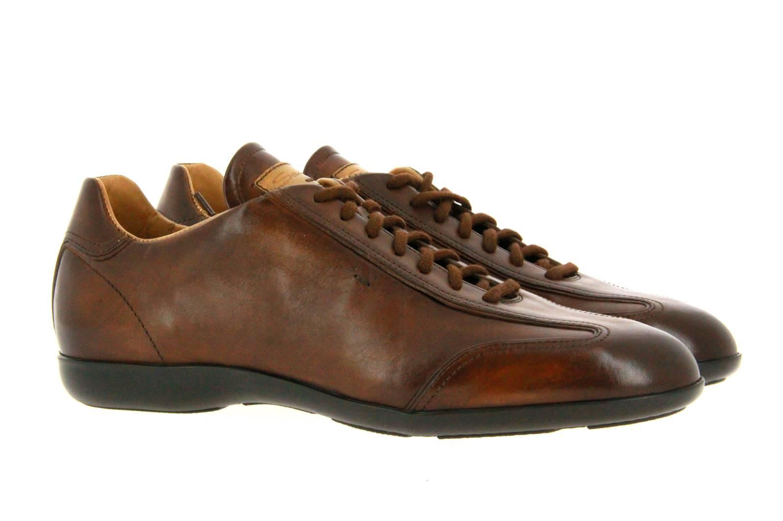 Santoni sneaker MBEA BROWN
